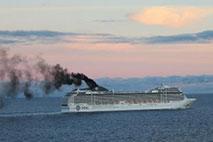 Kreuzfahrtschiff - Foto: Hapke/NABU