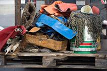 Müll aus der Ostsee - Foto: Stefan Sauer