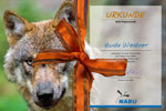Geschenkpatenschaft Wolf