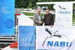 Erhard Skupch, Geschäftsführer des BUGA-Zweckverbandes, und Leif Miller, NABU-Bundesgeschäftsführer