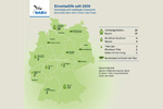 Verbreitungskarte Wölfe Deutschland