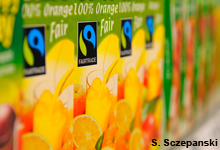 Orangensaft fairtrade