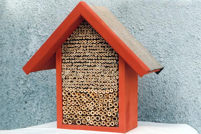 anleitung insekten nisthilfen selbst bauen nabu. Black Bedroom Furniture Sets. Home Design Ideas