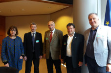 Präsentation des IRCEF-Programms im EU-Parlament.