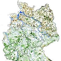 Karte Renaturierung