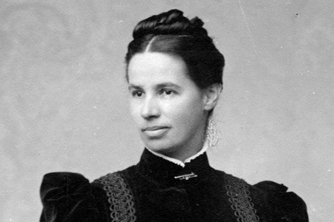 Lina Hähnle (1851-1941) um 1890. - Quelle: Archiv Magda und Wilfried Knöringer