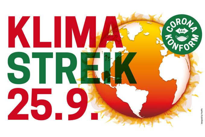 Globaler Klimastreik am 25.09.