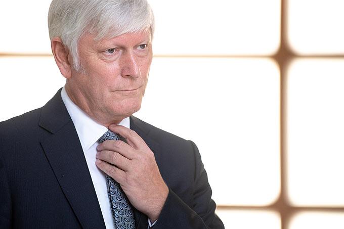 Rolf Martin Schmitz, Vorstandsvorsitzender der RWE AG - Foto: Fabian Sommer/dpa