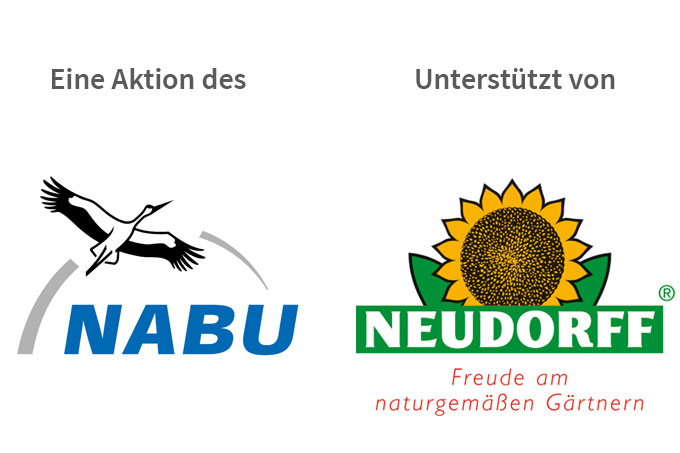 Logos Kooperationspartner NABU und Neudorff