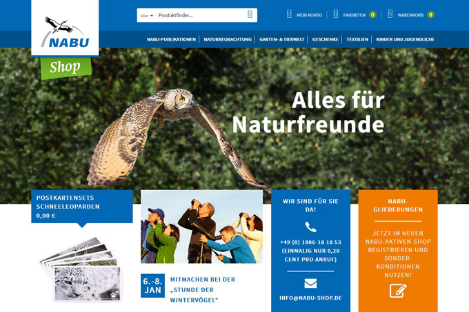 Screenshot NABU-Shop.de