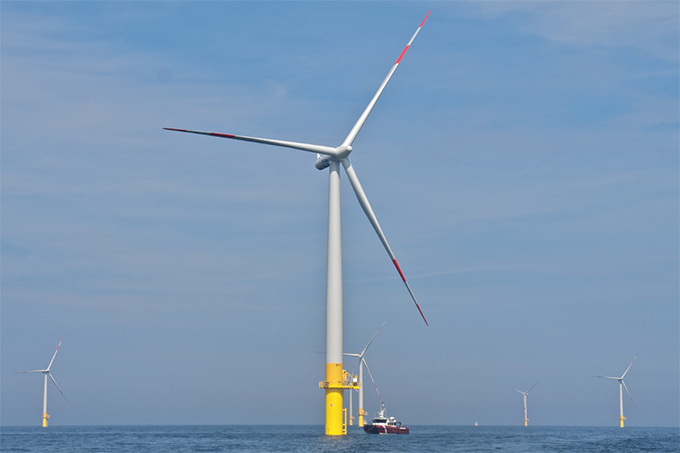 Offshore-Windkraft - Foto: Kim Detloff