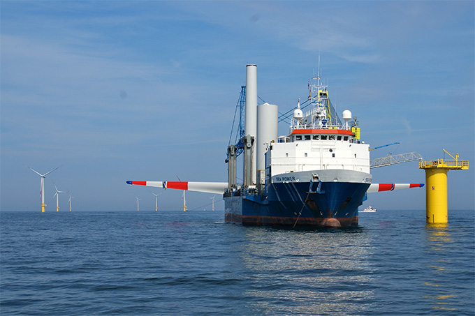 Offshore Windkraft - Foto: K. Detloff
