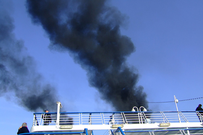 Kreuzfahrtschiff Umwelt