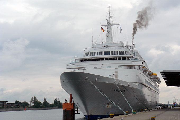 Kreuzfahrtschiff - Foto: Thomas Lauch